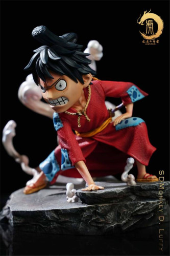 【Preorder】LongHu Studio ONE PIECE Luffy gear second resin statue's post card