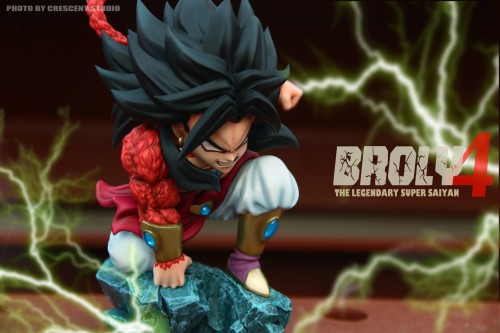 【In Stock】Crescent Studio Dragon ball The Legendary Super Saiyan Broly4 Resin Statue