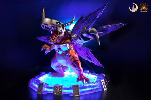 【Preorder】Moon Goddess&Miman Studio Digimon Adventure Metal Greymon Resin Statue's post card