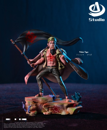 【Preorder】AD Studio One Piece Sun Pirates Fisher Tiger Resin Statue's post card