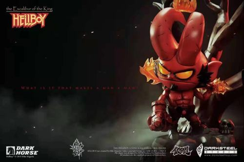 【Preorder】DarkSteel Toys Hellboy Copyright Resin Statue's postcard