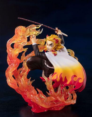 【In Stock】BANDAI Figuarts ZERO Demon Slayer Rengoku Kyoujurou PVC Statue