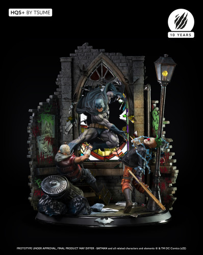 【Preorder】Tsume DC Comic Book Versions Silence Batman Resin Statue's post card