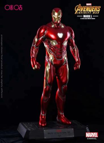 【Preorder】Migu Studio Marvel Iron Man MK50 Statue's post card