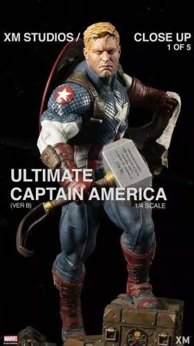 【Preorder】XM Studio Marvel Captain America 1/4 Scale Resin Statue's post card