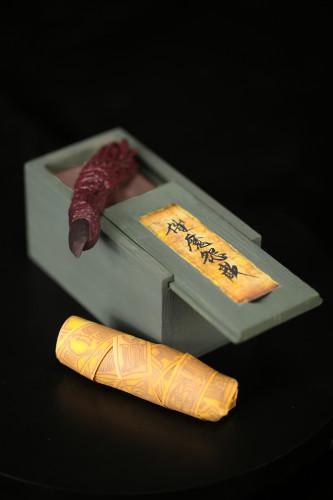 【Preorder】 GPONE Studio Jujutsu Kaisen Ryomen Sukuna Finger Resin Statue's post card