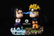 【Preorder】HZ Studio NARUTO Sasuke&Naruto Resin Statue's post card