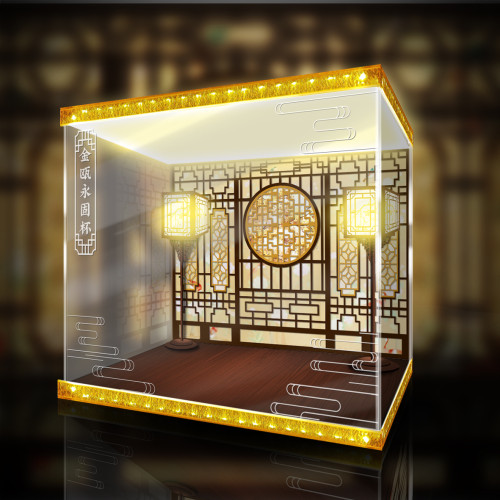 【Preorder】Myethos Studio The Nation's Greatest Treasures Chalice of Eternal Stability Statue Acrylic Display Box's post card