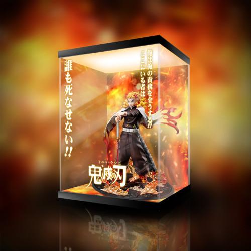 【Preorder】Aniplex Demon Slayer Rengoku Kyoujurou Statue LED Acrylic Display Box's Postcard