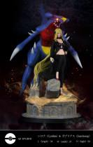 【Preorder】G1 Studio Pokemon Cynthia&Garchomp Resin Statue's post card
