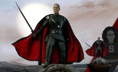 【Preorder】Sideshow Star Wars Mandalorian Moff Gideon Resin Statue's post card
