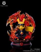 【In Stock】Surge Studio Pokemon Pikachu cosplay Naruto Uchiha Itachi Complete Body Susanoo Resin Statue