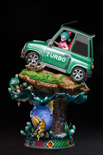 【Preorder】Zero Studio Dragon Ball Goku&Bulma First met Resin Statue's post card