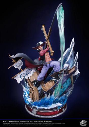 【In Stock】FOC Studios ONE PIECE Dracule Mihawk Seven Warlords of the Sea resin statue