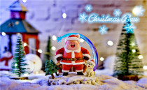 【Preorder】A+ Studio Dragon Ball Majin Buu Christmas resin statue's post card