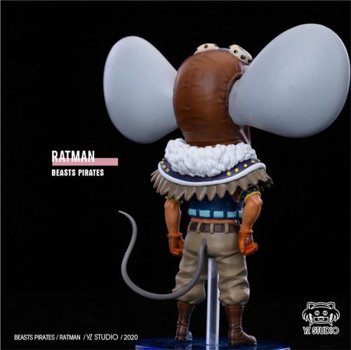 【In Stock】YZ Studio ONE PIECE Ratman resin statue