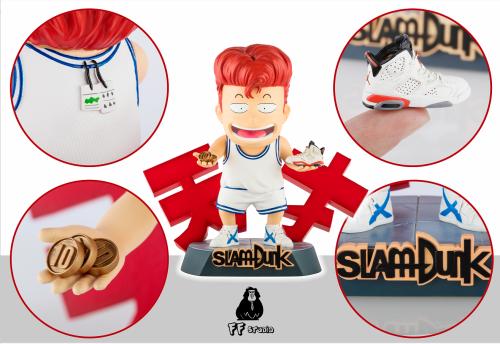 【Preorder】FF Studio SlamDunk Sakuragi Hanamichi bought shoes resin statue's post card