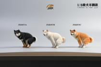 【Preorder】JXK Studio Shiba Inu Half squat Leg lift resin statue's post card