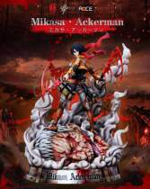 【Preorder】LC Studio Attack on Titan Mikasa·Ackerman resin statue's postcard