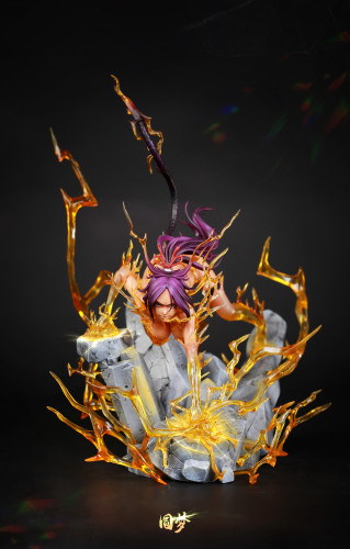【Preorder】Bleach Dream Studio BLEACH Shihouin Yoruichi Resin Statue's Post Card