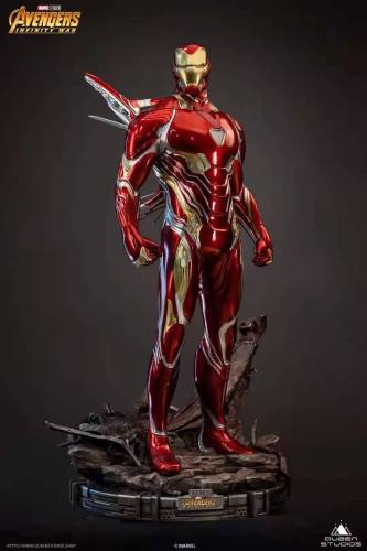 【Preorder】Queen Studio Marvel Iron Man MarK50 1/2 Resin Statue Copyright's Post Card