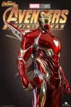 【Preorder】Queen Studio Marvel Iron Man MarK50 1/2 Resin Statue Copyright's Post Card