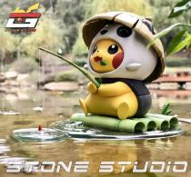 【Preorder】Stone Studio Pikachu cosplay Panda Resin Statue's Post Card