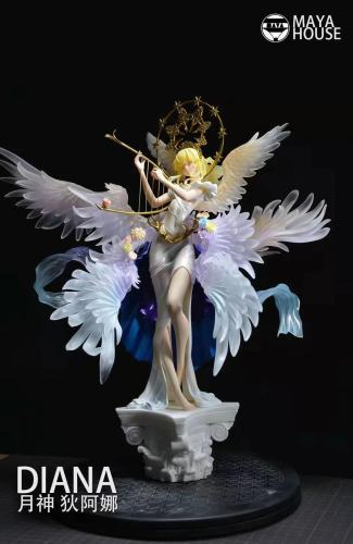【Preorder】Maya House Studio Moon Goddess Diana Resin Statue's Post Card