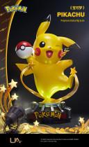 【In Stock】Unique Art Pokemon Pikachu 1/1 Scale Copyright Resin Statue