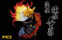 【Preorder】FO Studio Pokemon Pikachu cosplay Demon Slayer Rengoku Kyoujurou Resin Statue's Post Card