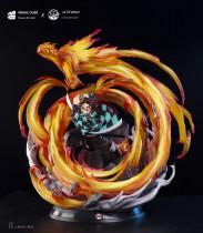 【Preorder】Magic Cube&JZ Studio Demon Slayer Kamado Tanjirou resin statue's post card
