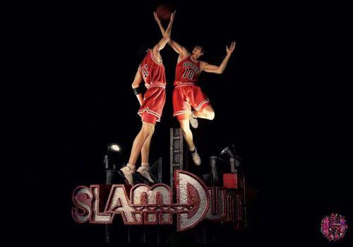 【Preorder】Cola Studio SlamDunk Sakuragi Hanamichi&Kaede Rukawa resin statue's postcard