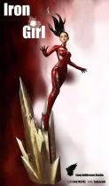 【Preorder】EmeraldDream Studio Marvel Iron Girl Resin Statue's Postcard