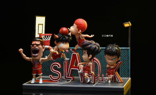 【Preorder】SANQIWANLU Studio SlamDunk Basketball Court Series Resin Statue's Postcard