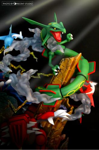 【In Stock】Crescent Studio Pokemon Emerald Resin Statue
