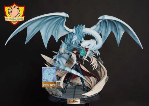 【Preorder】Dynamic Studio Yu-Gi-Oh! Blue-Eyes White Dragon Kaiba Resin Statue's Postcard