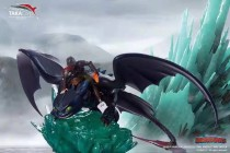 【Preorder】Takacorp Studio How to Train Your Dragon HicCup&Toothless Resin Statue's Postcard