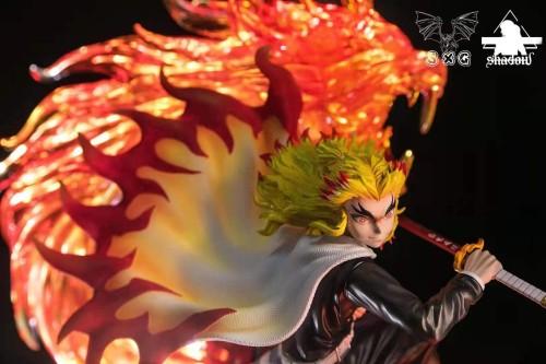 【In Stock】SXG Studio x SHADOW Demon Slayer Rengoku Kyoujurou Resin Statue