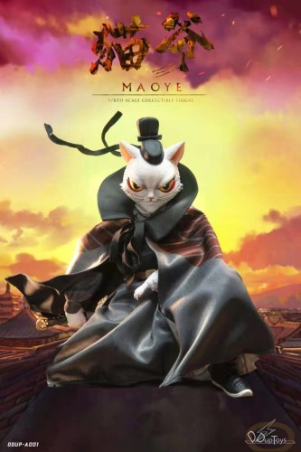 【Preorder】DDUPToys Cat Master Maoye Movable Figure's Postcard