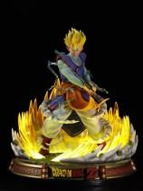 【Preorder】KRC Studio Dragon Ball King Kai Gohan Scale Resin Statue's Postcard