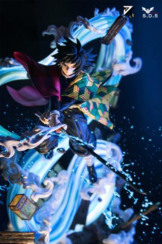 【In Stock】SDS x JIANKE Studio Demon Slayer Tomioka Giyuu Resin Statue