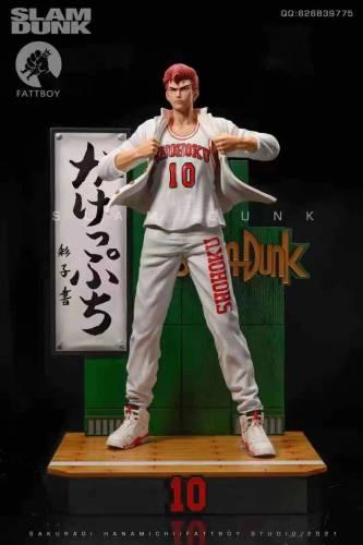 【Preorder】Fattboy Studio SlamDunk Sakuragi Hanamichi 1/6 Scale Resin Statue's Postcard