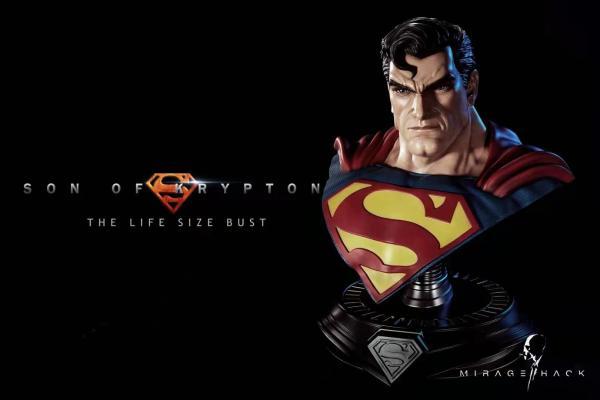 【In Stock】Mirage Hack Studio DC Superman 1/1 Scale Bust Resin Statue