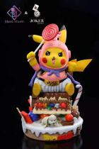 【Preorder】Magic Studio & Joker Studio Pikachu cosplay Buu Resin Statue's Postcard