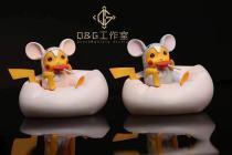 【Preorder】QG Studio Pokemon Pikachu cosplay Mouse Resin Statue's Postcard