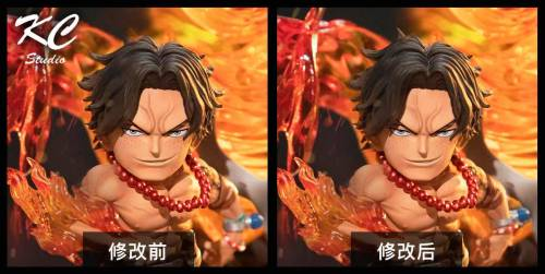 【In Stock】KC Studio ONE PIECE Ace Resin Statue