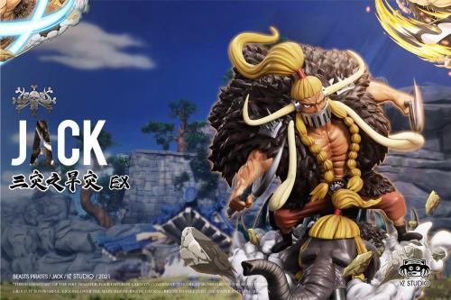【Preorder】YZ Studio ONE PIECE Beasts Pirates Jack Resin Statue's Postcard