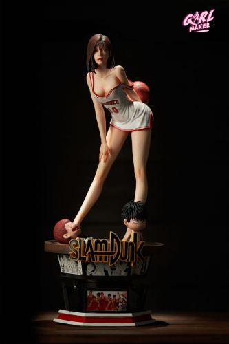 【Preorder】GIRL MAKER Studio SLAM DUNK Akagi Haruko resin statue's postcard