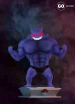 【Preorder】GO Studio Pokemon Muscle Gengar Resin Statue's Postcard
