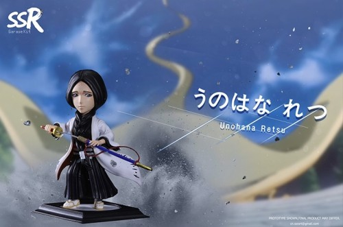 【Preorder】SSR Studio BLEACH Unohana Retsu&Kuchiki Byakuya Resin Statue's Postcard